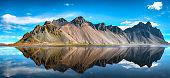 Stokksnes cape in Iceland