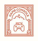 GAME CONSOLE ICON CONCEPT