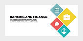 BANKING AND FINANCE BANNER CONCEPT