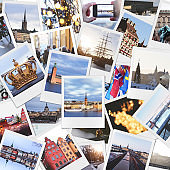 Stockholm Collage (Clipping Path)