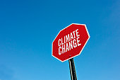 """""""Climate change"""" traffic sign"""