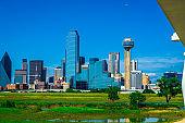 Dallas Texas 2019 skyline cityscape of the best skyline in America