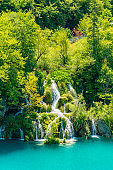 Plitvice Waterfalls, Plitvicka Jezera, National Park, Croatia