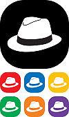 Mas Hat Icon Set