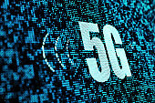technology concept of 5g