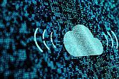 technology concept of cloud
