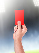 Referee Hand And Card