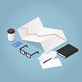 Isometric Business Concept Illustration
