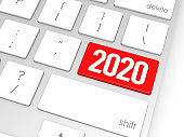 Red 2020 Enter Key