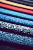 Multi-Colored Piece Of Materials