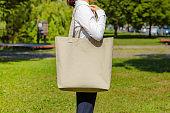 Eco Bag. fiber pouch.