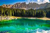 Lake Carezza - Bolzano, South Tyrol, Italy