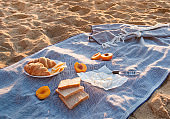 Picnic on the beach.