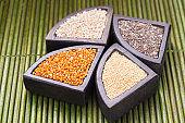 grains of super gluten-free foods