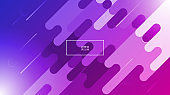 Technology Colorful, Geometric Minimal Abstract Background, Texture. Bright, Light, Rainbow, Minimal. White, Pink, Purple, Violet, Blue. Sunlight Flare. Gradient Shapes Composition. Vector, Eps10