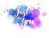 Just be you - motivational message
