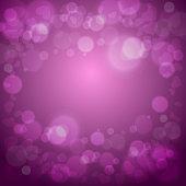 Hearts love purple background vector illustration