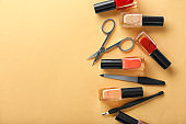 Nail polishes and tools