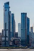 The skyscrapers of Manhattan