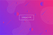Fluid landing page background.Trendy and modern background color.