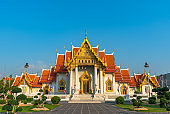 Wat Benchamabophit in the morning
