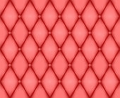 Luxury red leather texture. Genuine leather pattern. Rhombus geometric background