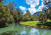 River landscape view, Gold Coast, Queensland, Australia