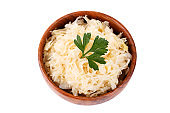 White pickled cabbage