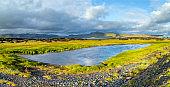 Majestic landscape of Iceland island, Iceland