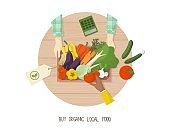 Buy organic local food