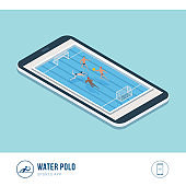 Professional sports competition: water polo