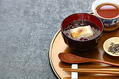oshiruko, japanese traditional winter dessert