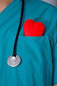 Heart in pocket