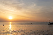 Sea and Sunset, Goi Beach, Ichihara, Chiba Prefecture, Japan