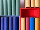 Colorful generic books