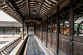 Chinese antique door