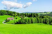 valley in Berchtesgaden Alpine region landscape view