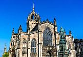 St. Giles Cathedral in Edinburgh, Scotland