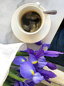 Coffee and Flowers Date