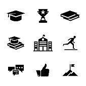 LEARNING SOLID ICONS