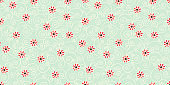 flower seamless pattern, paisley indian design