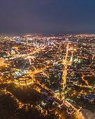 Kiev night city , Ukraine