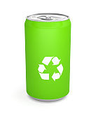 recyclable sort ecology environment cans of soda