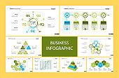 Creative business presentation slide for management concept