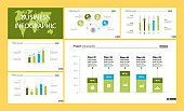 Creative business infographic design for analysis concept