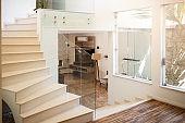 House stairs hallway