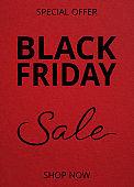 Black Friday sale banner design background