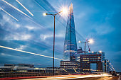 The Shard building in London city - stock image