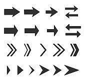 Arrow Set - Stock Vector Image
