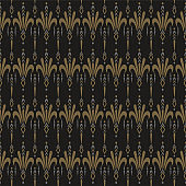 Background decoration. Modern seamless pattern. Dark background texture